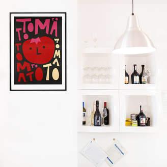 KitchenArt Fox & Velvet Retro Tomato
