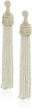 Kenneth Jay Lane Women's Bead Tassel Drop Earrings