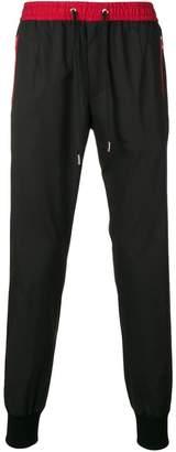 Dolce & Gabbana contrast trim track pants