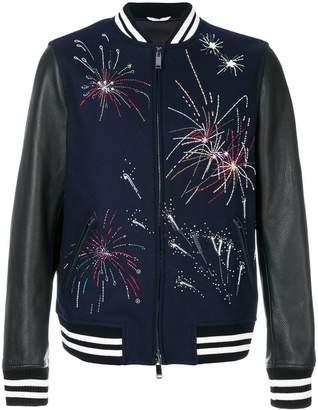 Valentino firework bomber jacket
