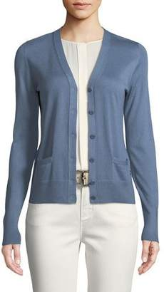 Loro Piana Button-Front Cashmere Cardigan