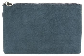 Women's Madewell Medium Leather Pouch - Green