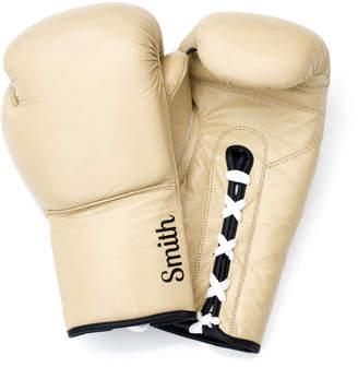 Equipment We Print Balls Personalised Premium Leather Boxing Gloves Light Tan