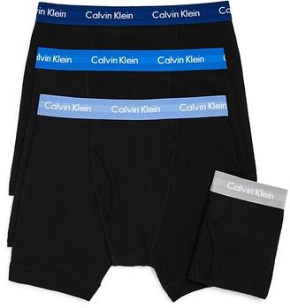 Calvin Klein Boxer Briefs - Pack of 3 + 1 Bonus Pair $42.50 thestylecure.com