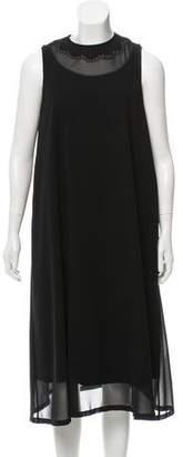 Noir Kei Ninomiya Embellished Midi Dress w/ Tags