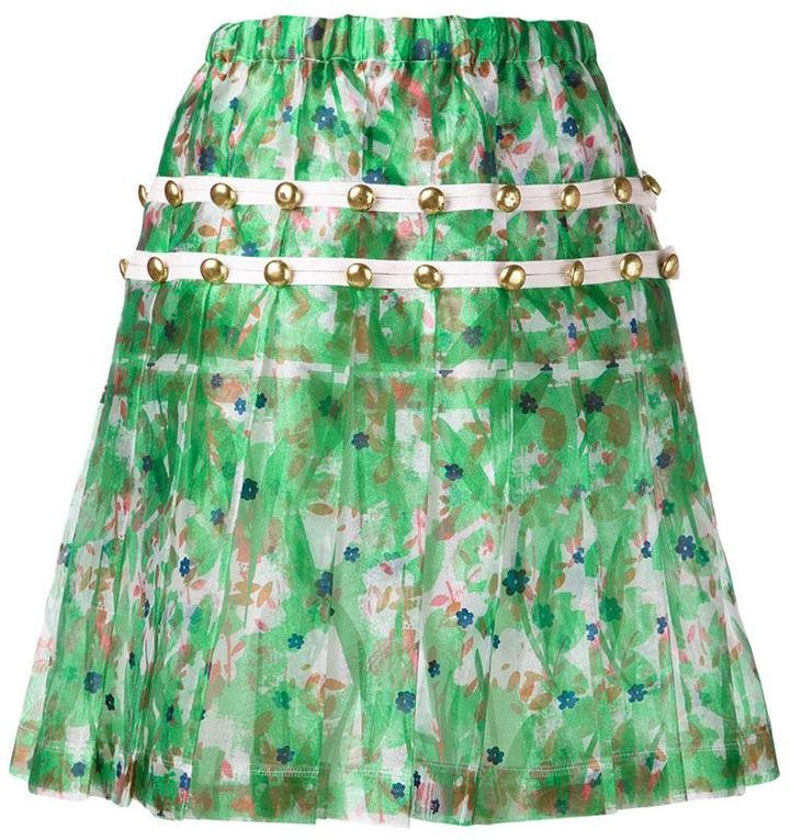 Comme Des Garçons Vintage floral skirt