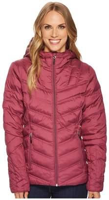 Spyder Geared Hoodie Synthetic Down Jacket Women's Coat