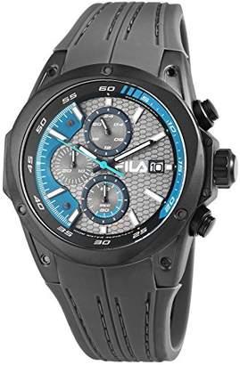 Fila Mens Analogue Quartz Watch with Silicone Strap 38-823-004