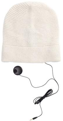 Rebecca Minkoff Solid Knit Headphone Beanie