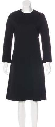 Celine Long Sleeve Knee-Length Dress