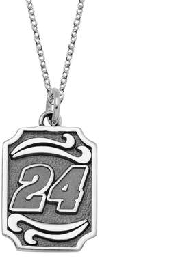 "Insignia Collection NASCAR Jeff Gordon Stainless Steel ""24"" Pendant"