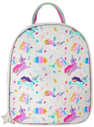 Angels By Accessorize Girls Angels by Accessorize Silver Unicorn Super Hero Lunch Bag - Silver