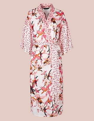 Rosie for Autograph Pure Modal Floral Wrap Dressing Gown