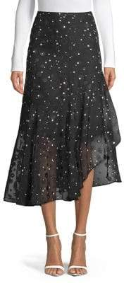 Highline Collective Polka Dot Midi Skirt