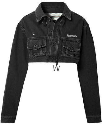 Off-White OffWhite - Cropped Denim Jacket