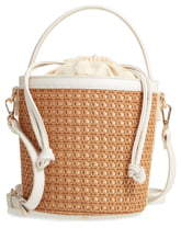 Sole Society Nikole Woven Bucket Bag