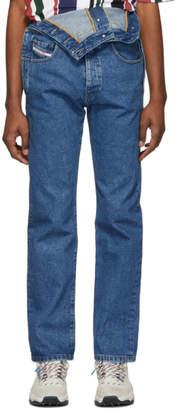 Diesel Red Tag Blue Glenn Martens Edition Denim Jeans
