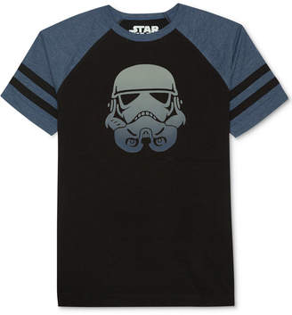 Star Wars Big Boys Stormtrooper-Print T-Shirt