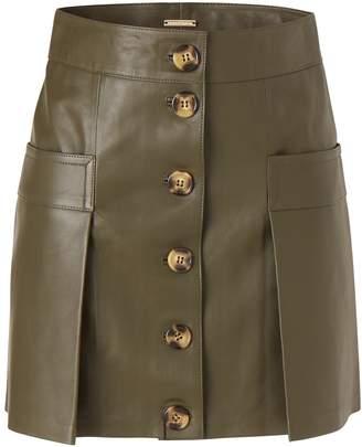 Dodo Bar Or Galina leather skirt