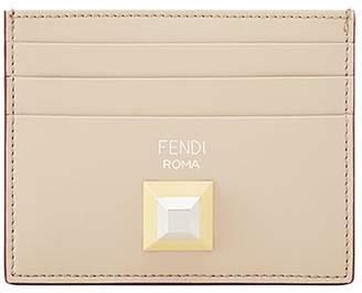 Fendi stud logo cardholder