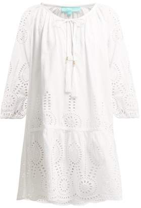 Melissa Odabash Ashley Broderie Anglaise Dress - Womens - White