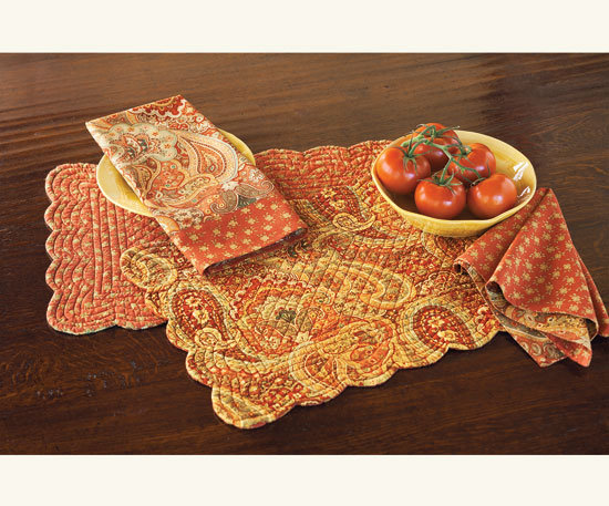 Napa Style Sunset Quilted Linens
