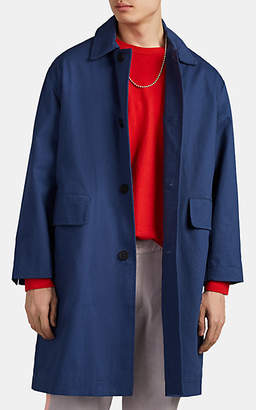 Dickies CONSTRUCT Men's Cotton Oversized Long Driving Coat - Md. Blue