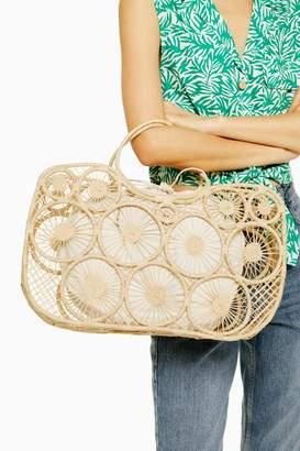 Topshop SAIL Handmade Straw Tote Bag