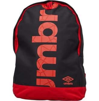 Umbro Commodus Liner Logo Backpack Black