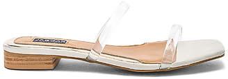 Jaggar Perspex Sandal