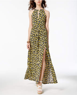 Michael Kors MICHAEL Floral-Print Maxi Dress, Regular & Petite, Created for Macy's