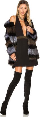 ale by alessandra x REVOLVE Antonella Faux Fur Coat $268 thestylecure.com