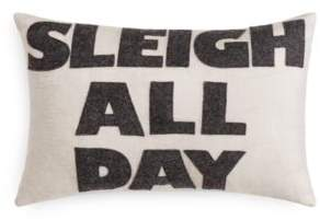 Alexandra Ferguson Sleigh All Day Decorative Pillow, 12 x 18 - 100% Exclusive