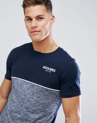 Jack and Jones Core T-Shirt With Color Block