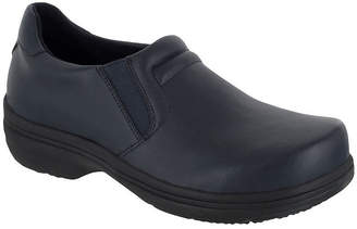 EASY WORKS BY EASY STREET Easy Works By Easy Street Womens Bind Clogs Elastic Round Toe