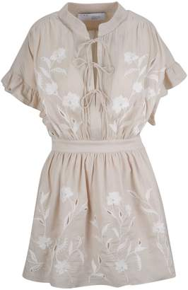 IRO Embroidered Floral Dress