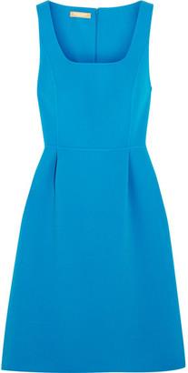 Michael Kors Collection - Crepe Mini Dress - Blue $1,595 thestylecure.com