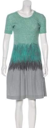 Nina Ricci Knit Knee-Length Dress