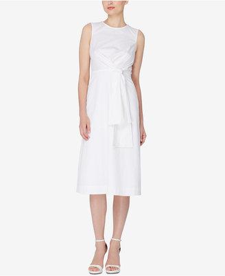 Catherine Malandrino Ursula Knotted Midi Dress $268 thestylecure.com