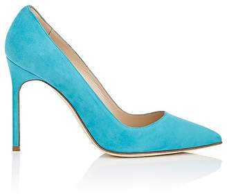 Manolo Blahnik Women's BB Suede Pumps
