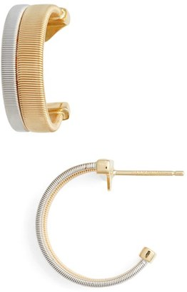 Women's Marco Bicego Coil Hoop Earrings $1,580 thestylecure.com