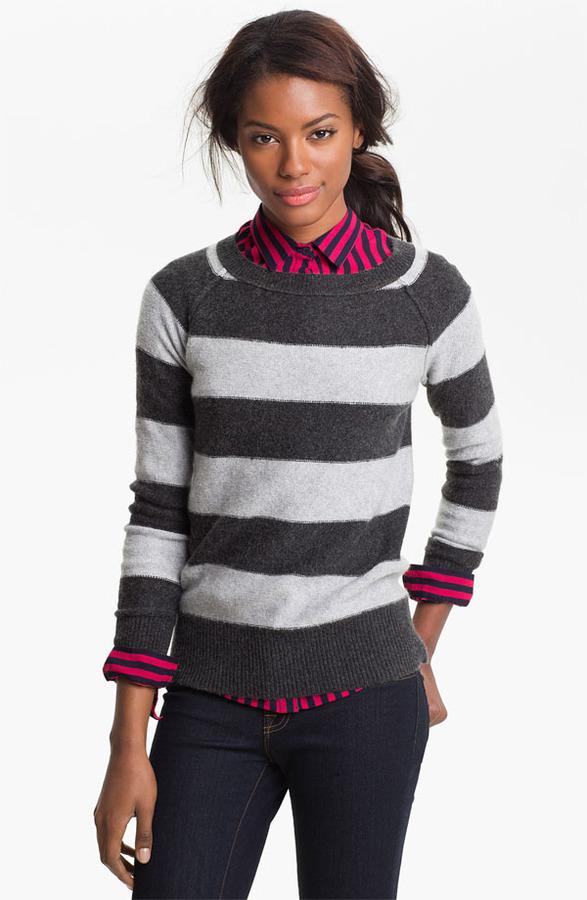Caslon Bateau Neck Sweater