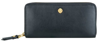 Anne Klein Faux Leather Zip Around Wallet $48 thestylecure.com