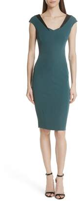Milly Italian Cady Sonia Sheath Dress