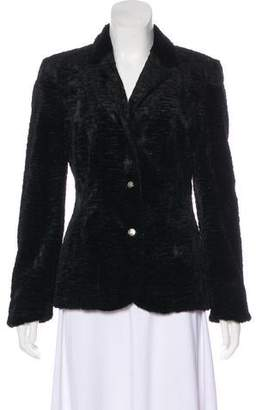 Blumarine Faux Shearling Jacket