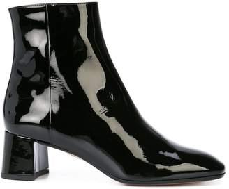 Aquazzura patent leather boots