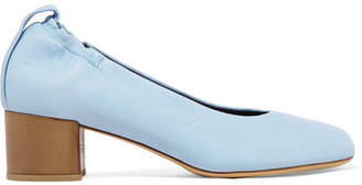 Eren Leather Pumps - Blue