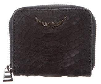 Zadig & Voltaire Embossed Leather Wallet