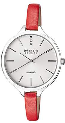 Johan Eric Women's Quartz Stainless Steel and Leather Casual Watch