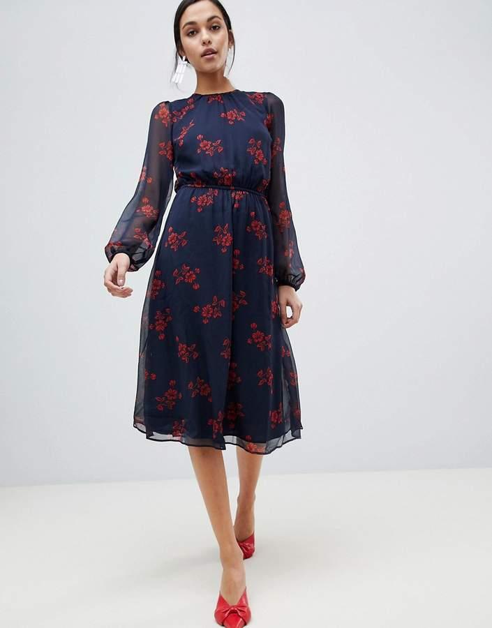 Y.A.S Flow Floral Dress